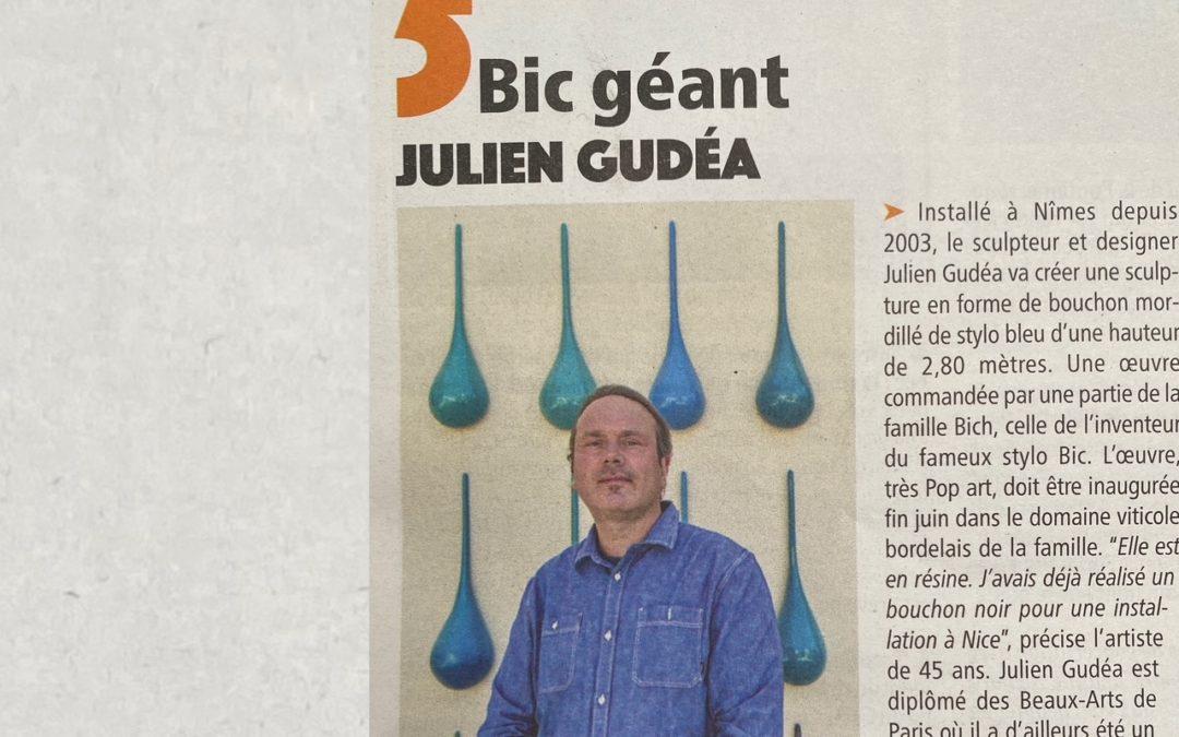 Bic géant Julien Gudéa
